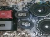 فروش فوری سیستم صوتی خودرو